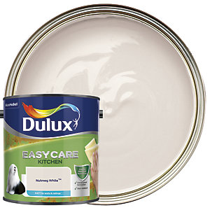Dulux Easycare Kitchen - Nutmeg White - Matt Emulsion Paint 2.5L