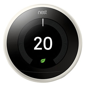 Image of Nest Learning Smart 3rd Generation White Thermostat