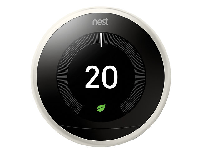 Nest Learning Smart 3rd Generation White Thermostat