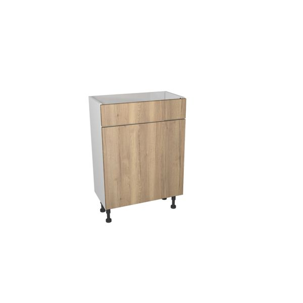 Wickes Vienna Oak Floorstanding Toilet Unit - 600 x 735mm