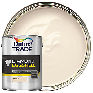 Dulux Trade Diamond Eggshell Emulsion Paint - Magnolia 5L
