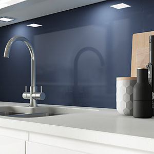AluSplash Splashback - Blueberry