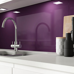 Image of AluSplash Splashback - Aubergine 900 x 800mm