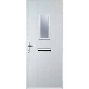 Euramax 1 Square White Right Hand Composite Door