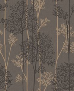 Graham Brown Superfresco Easy Eternal Chocolate And Bronze Glitter Effect Wallpaper