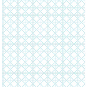 Superfresco Easy Diane Blue Geometric Wallpaper - 10m