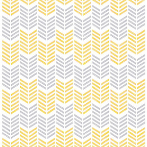 Superfresco Easy Oiti Geometric Design Yellow Wallpaper - 10m