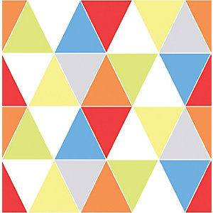 Image of Graham & Brown Harlequin Multicolour Bright Geometric Wallpaper - 10m