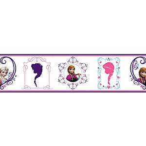 Disney Frozen Frames Multicoloured Decorative Border - 5m