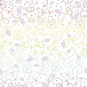 Tinkerbell Fairytale Garden Multicoloured Decorative Wallpaper - 10m