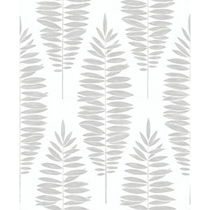 Boutique Lucia White/Silver Decorative Wallpaper - 10m