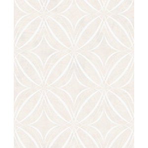 Superfresco Easy Glitz Geo Taupe Decorative Wallpaper - 10m