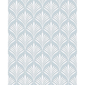 Superfresco Easy Bonnie Geo Duck Egg Blue Decorative Wallpaper - 10m