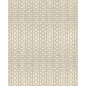 Superfrersco Easy Optical Pale Gold Decorative Wallpaper - 10m