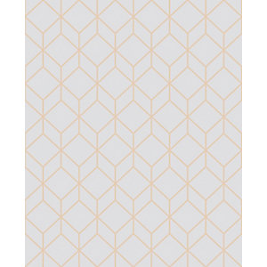 Superfresco Easy Myrtle Geo Grey Decorative Wallpaper - 10m