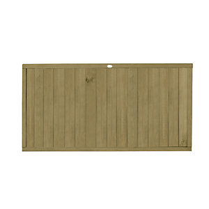 Forest Garden Tongue & Groove Vertical Fence Panel - 6 x 3ft Multi Packs
