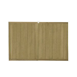 Forest Garden Tongue & Groove Vertical Fence Panel - 6 x 4ft Multi Packs