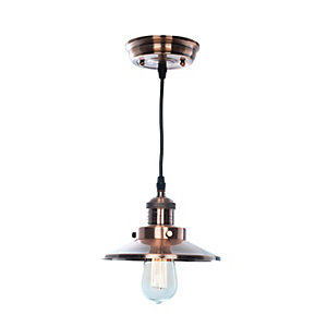 Image of Village at Home Holborn Copper Ceiling Lantern - 25W E27