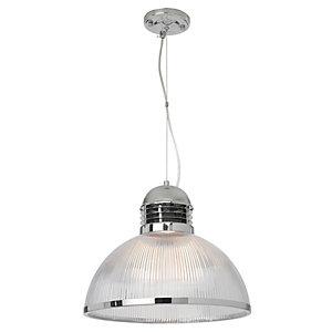 Image of Village at Home Jodrell Acrylic Comptemporary Ceiling Light Fitting - 60W E27
