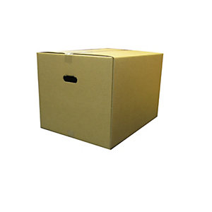 Image of NDC Extra Large Strong Cardboard Boxes - 600x470x420mm - Pack of 10