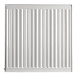 Image of Type 21 Double Panel Plus Compact Radiator - White 500 x 500 mm