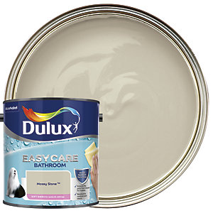 Dulux Easycare Bathroom - Mossy Stone - Soft Sheen Emulsion Paint 2.5L