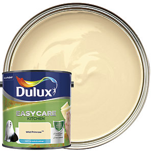 Dulux Easycare Kitchen - Wild Primrose - Matt Emulsion Paint 2.5L