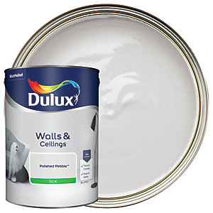 Dulux - Polished Pebble - Silk Emulsion Paint 5L