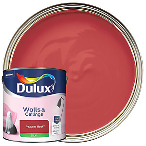 Dulux - Pepper Red - Silk Emulsion Paint 2.5L