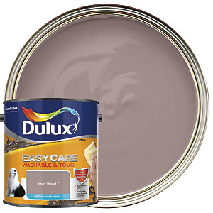 Dulux Easycare Washable & Tough - Heart Wood - Matt Emulsion Paint 2.5L