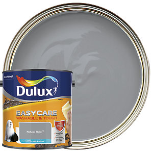 Dulux Easycare Washable & Tough - Natural Slate - Matt Emulsion Paint 2.5L