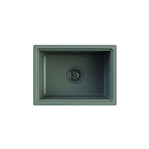 Askwith Undermount 1 Bowl Composite Kitchen Sink - Grey
