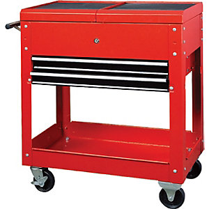 Hilka Tools and Parts Trolley - Red