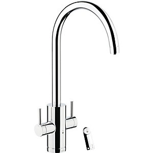 Image of Abode Profile Monobloc 4 in 1 Hot Water & Filter Sink Tap - Chrome