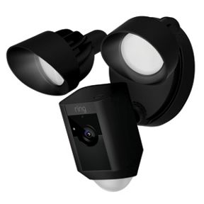 Ring Motion-Activated Floodlight Camera - Black