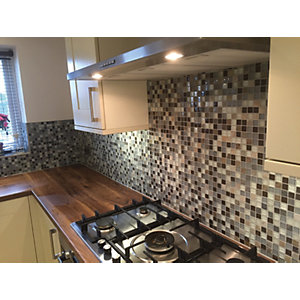 House of Mosaics Tuscon Small Mosaic Tile Sheet - 300 x 300 mm
