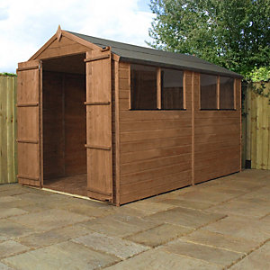 Mercia 10 x 6 ft Timber Shiplap Apex Shed