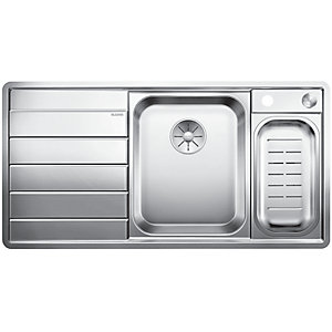Image of Blanco Axis 1.5 Bowl Left Hand Stainless Steel Kitchen Sink