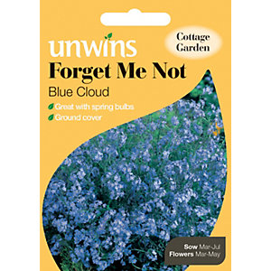 Image of Unwins Blue Cloud Forget Me Not Seeds