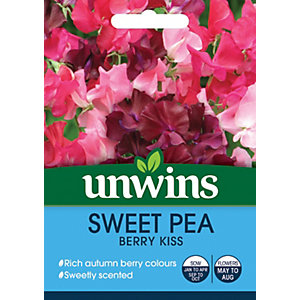 Image of Unwins Berry Kiss Sweet Pea Seeds