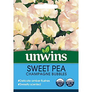 Image of Unwins Champagne Bubbles Sweet Pea Seeds