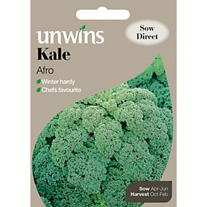 Image of Unwins Afro Kale Seeds