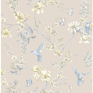 Superfresco Easy Simplicity Gold/Yellow Decorative Wallpaper - 10m
