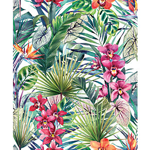 Image of Superfresco Easy Aloha Tropical Decorative Wallpaper - 10m