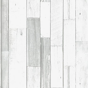 Superfresco Easy Woody Grey Decorative Wallpaper - 10m