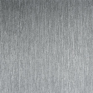 Boutique Boucle Silver Decorative Walpaper - 10m