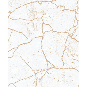 Superfresco Easy Kintsugi Gold Decorative Wallpaper- 10m