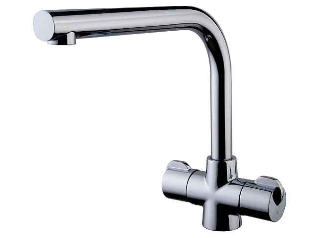 Wickes Cosa Monobloc Kitchen Sink Mixer Tap - Chrome