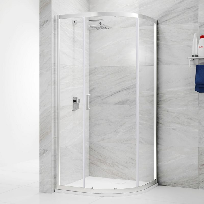 6mm Quadrant 1 Door Sliding Shower Enclosure