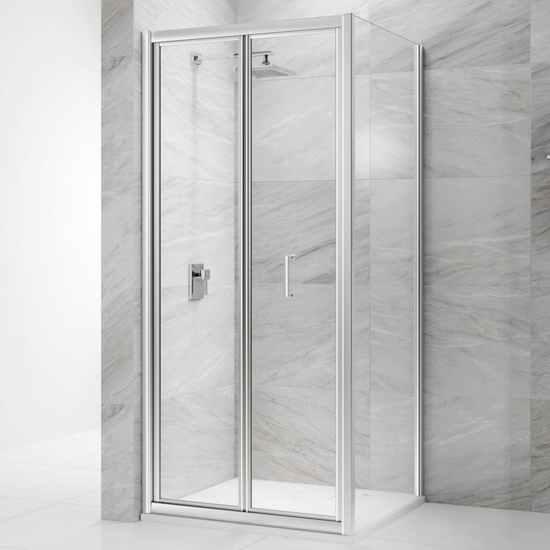 6mm Bifold Chrome Framed Shower Door